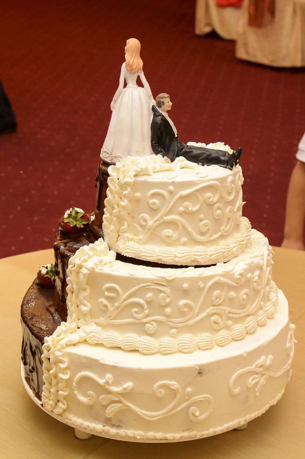 Сватбена Гръндж торта