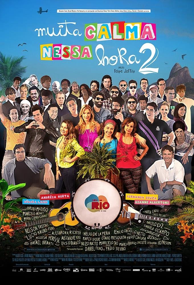 """Poster do filme """"Muita Calma Nessa Hora 2"""""""