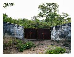 Cemitério de Gago Coutinho, Talhão Militar Português
