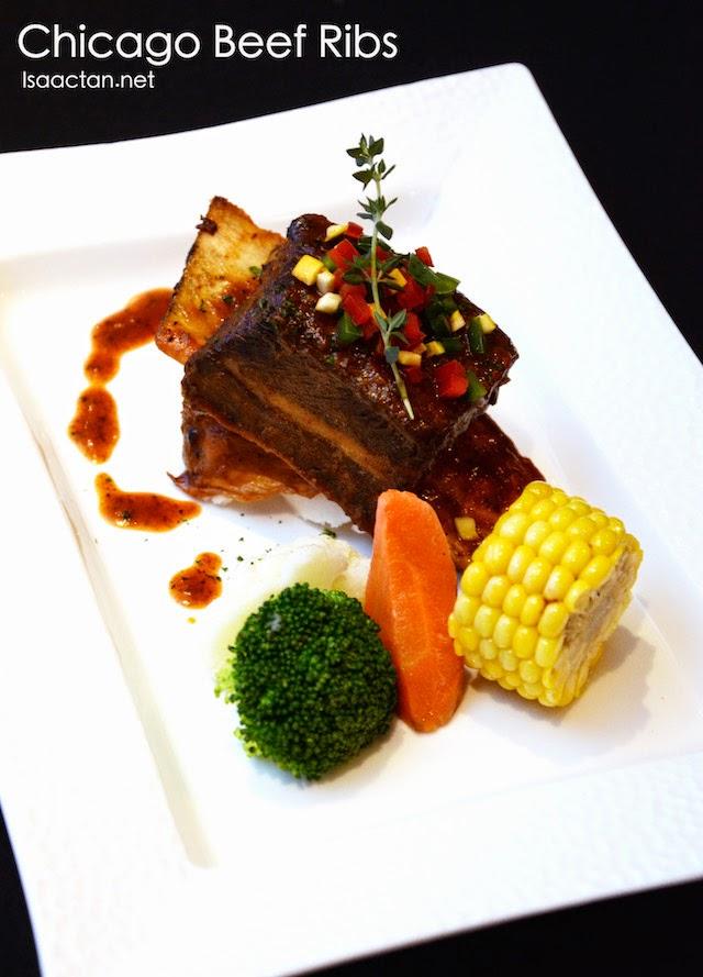 American BBQ Dinner Menu @ Hotel Armada Petaling Jaya, Chicago Beef Ribs - RM48