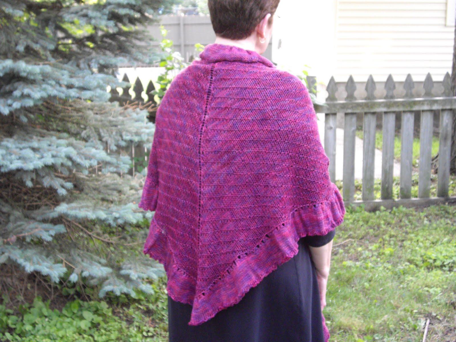 Knitting Pattern For Kate Middleton s Shawl : Knitting Professor: May Adventures in Knitting