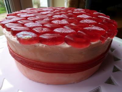 Strawberry Sweetie Cake Recipe