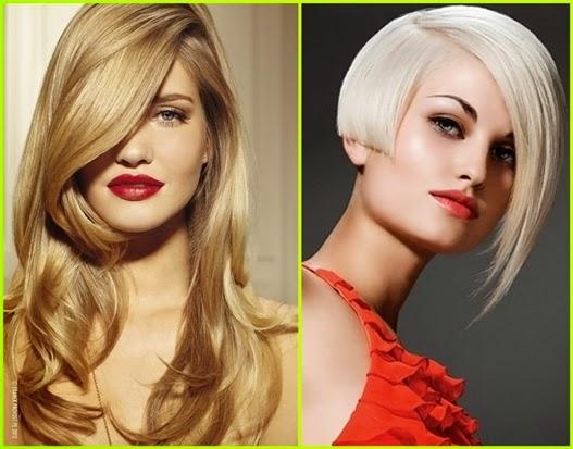 Lange blonde Haare 2015