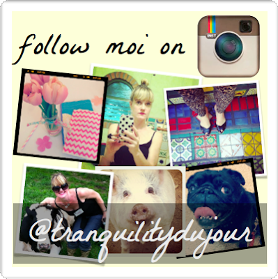follow moi on instagram @tranquilitydujour