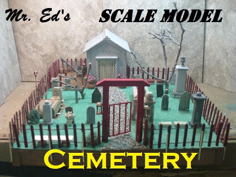 My Scale Model Cemetery