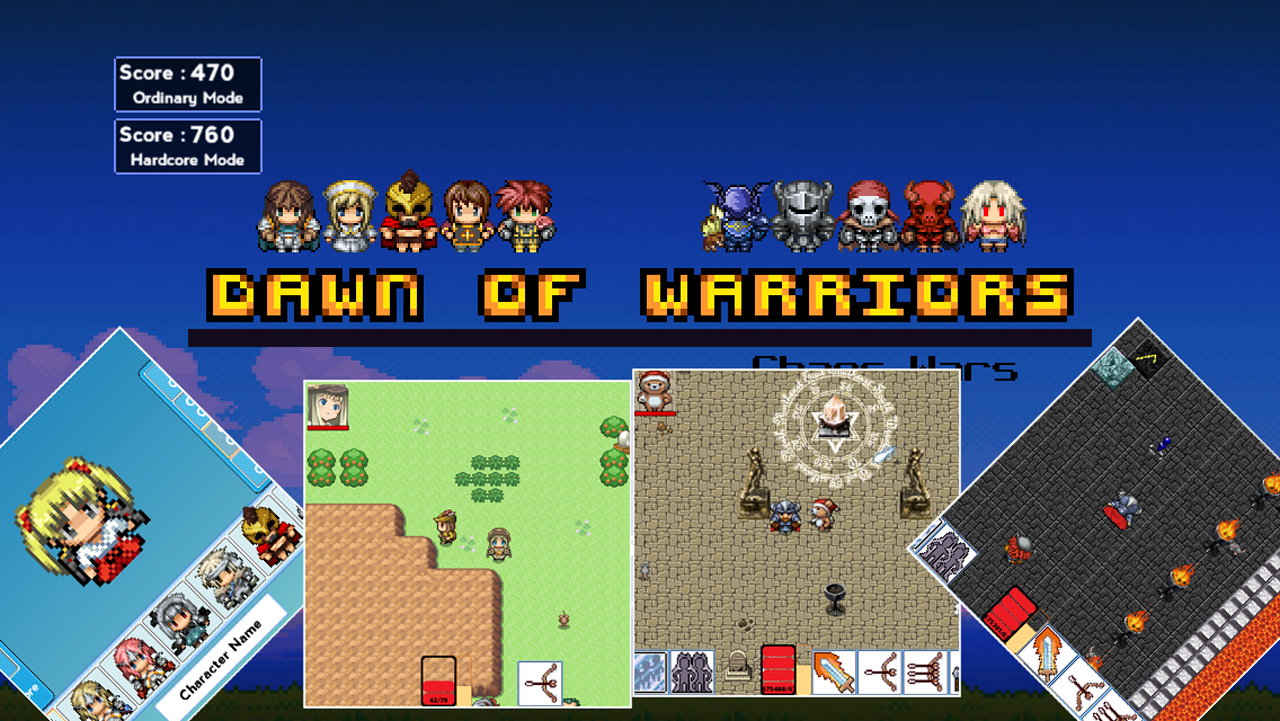 Dawn of Warriors Gameplay Android