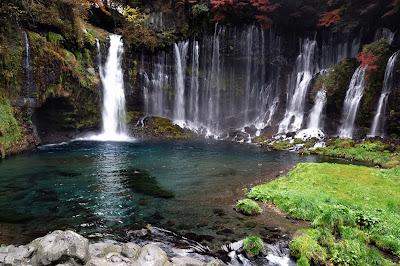 Shiraito Falls Fujinomiya Japan