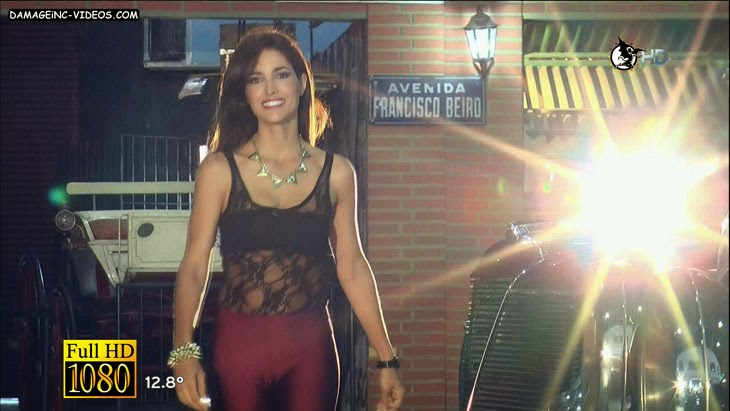 Argentina model Alejandra Martinez pussy cameltoe in full HD video