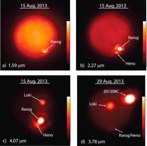 Astrofísica y Física: Observando masivas erupciones volcánicas en Io