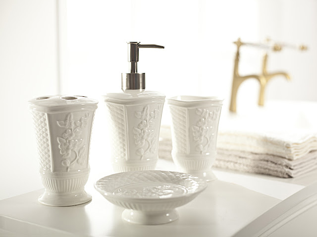 Craft and Decorate Blog - English Home banyo takımı