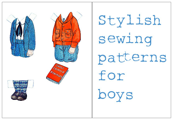 Stylish Little Boys Sewing Patterns