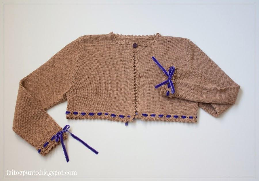 Como hacer chaqueta de punto - Como hacer ochos de punto ...