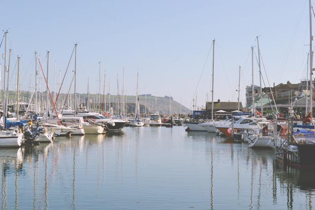 Yachts at Plymouth