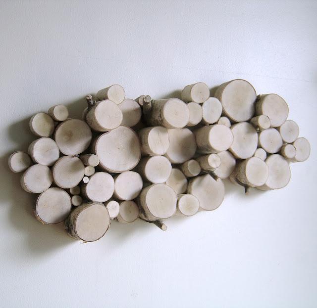 drewniana instalacja drewniany obraz diy eco manufatura