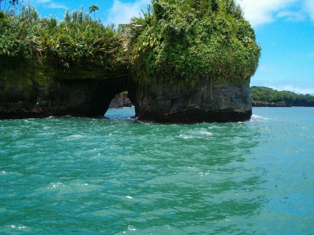 Paisaje con Mar Verde