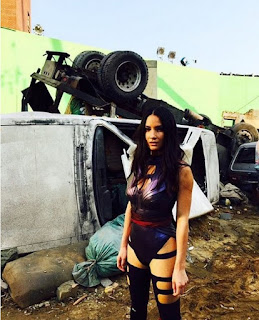 New Picture of Olivia Munn as Psylocke