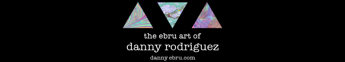 Danny's Ebru Art Blog