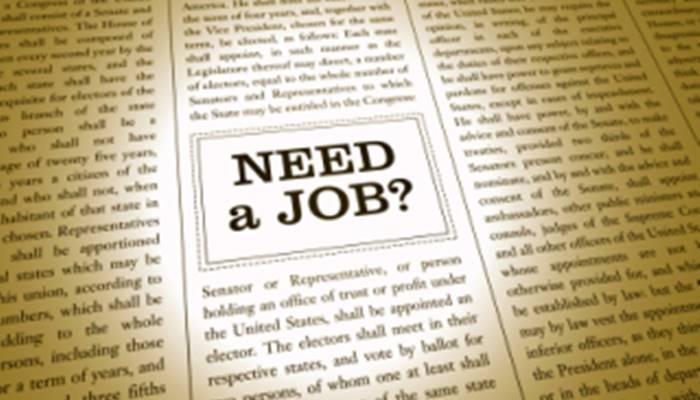 need a jobs