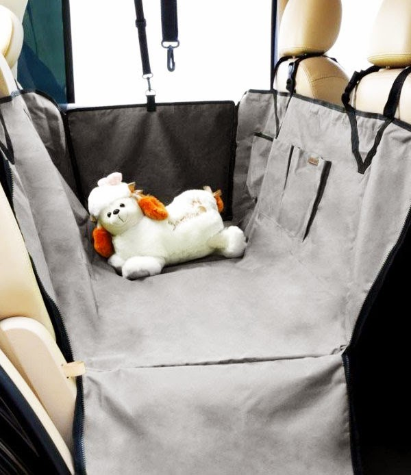 dog seat cover image