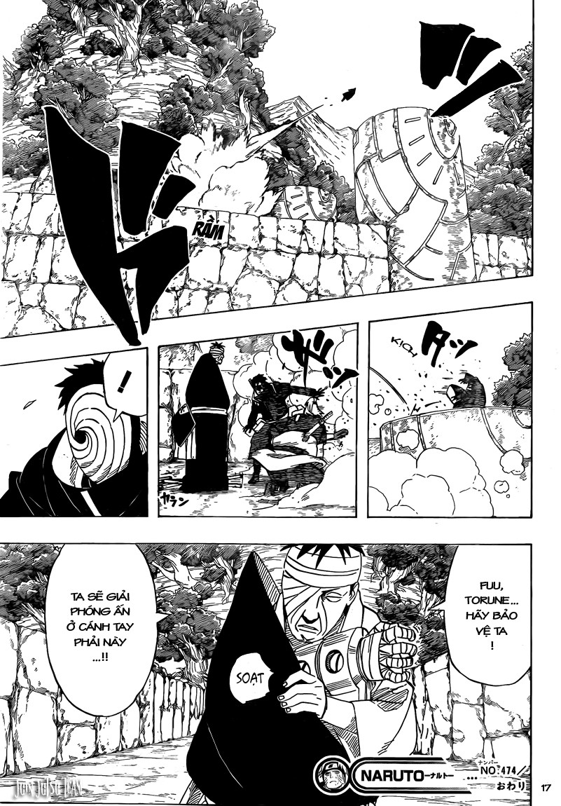 Naruto chap 474 Trang 17 - Mangak.info