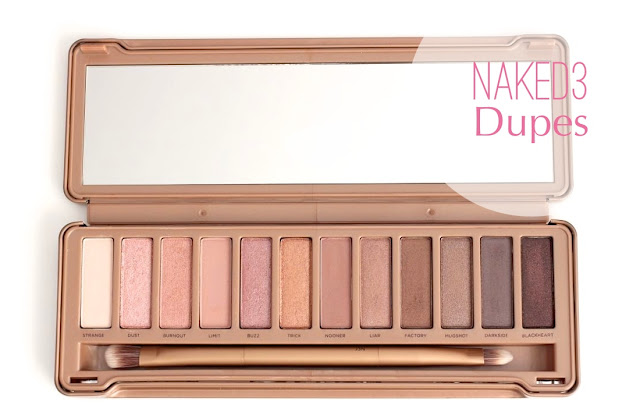 NAKED 3 palette dupes