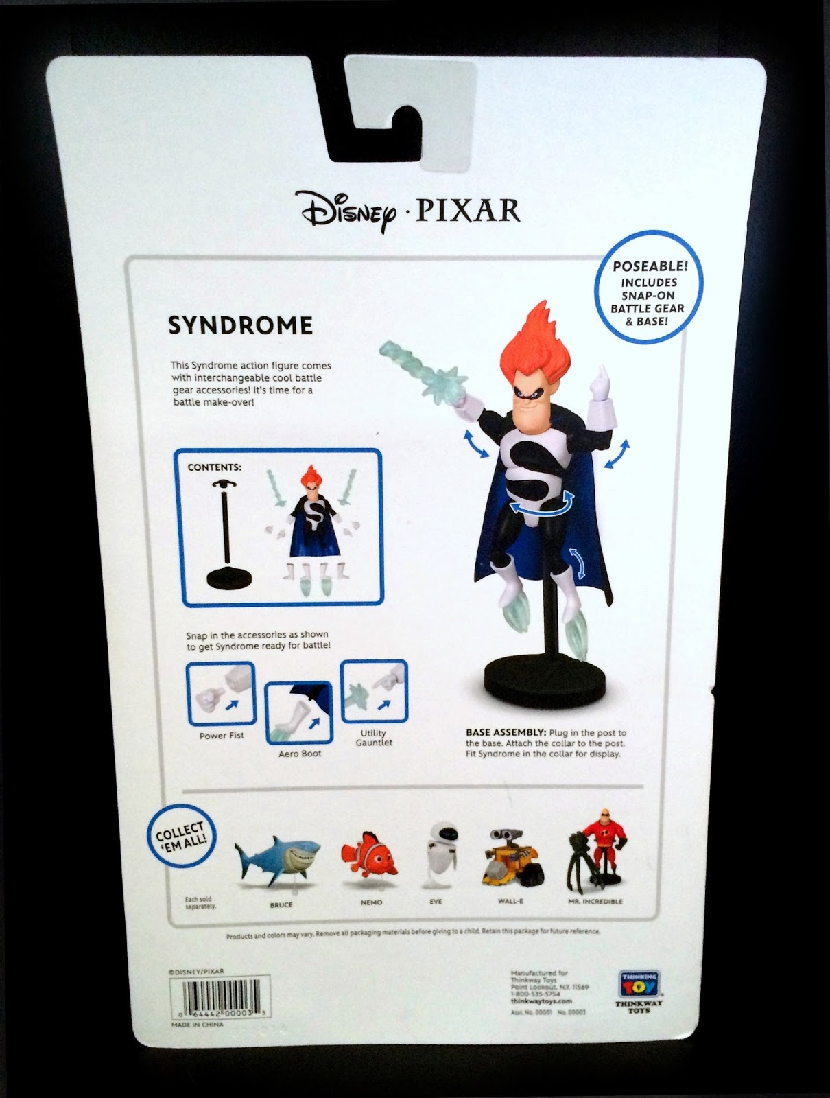 The Incredibles Toys R Us : Dan the pixar fan incredibles thinkway toys syndrome