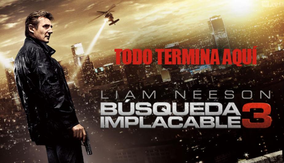 Busqueda Implacable 1,2,3 en full Hd 1080p [MG]