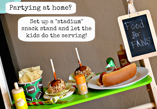 Mommy Testers Stadium Snack Stand  for a child #ChooseSmart