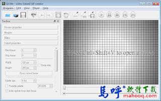 QGifer Portable 免安裝,截取電影片段轉GIF動畫檔工具軟體,好用的影片轉GIF動畫程式