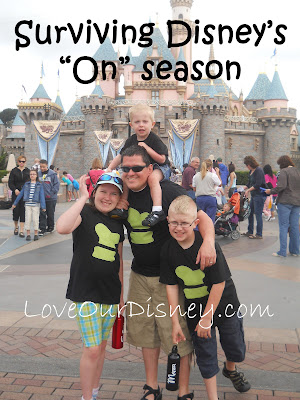 Tips for surviving Disney during crowded seasons from LoveOurDisney.com