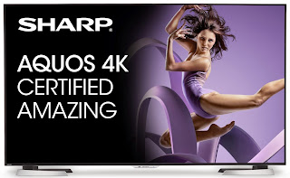 Sharp AQUOS 4K Ultra HD Smart TV with THX 4K-Certification