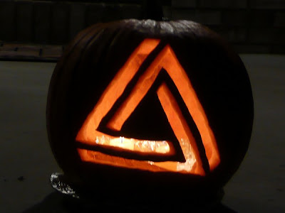 Impossible Triangle on Pumpkin