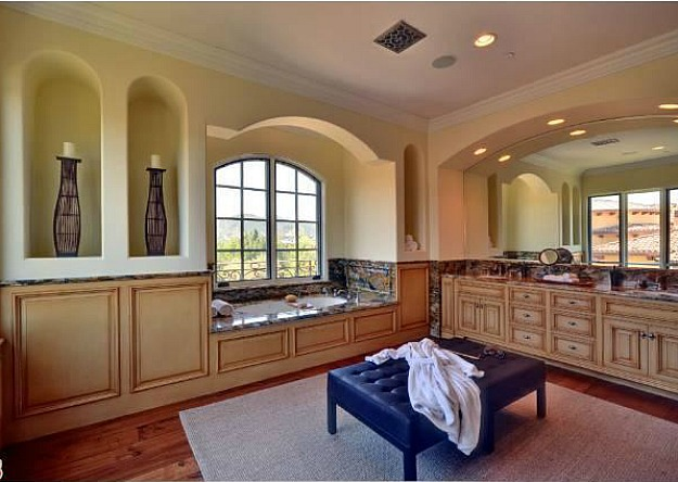 Picture of luxury bathroom in the new house