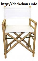 Low Bamboo Director Chairs
