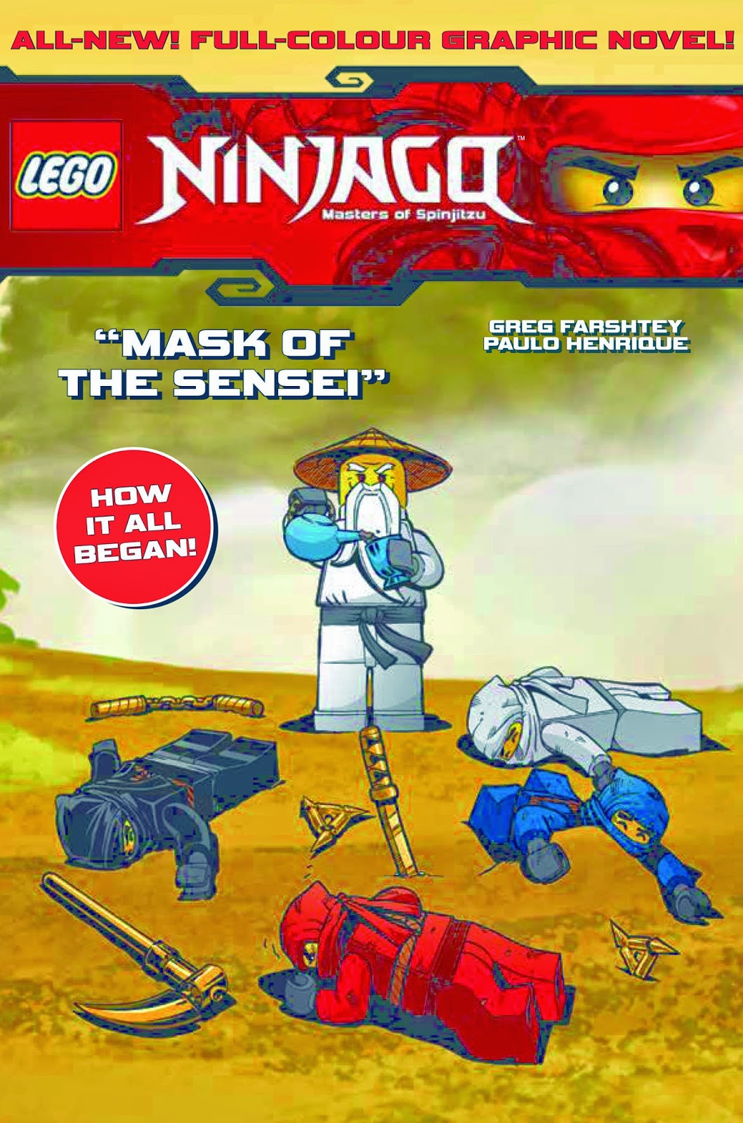 LEGO Ninjago Graphic Novel Mask Of The Sensei