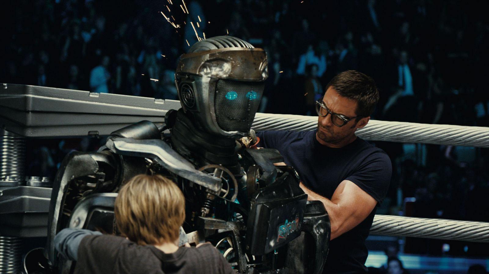 ... mix a robot robots real steel 2011 dakota goyo steel top forward real