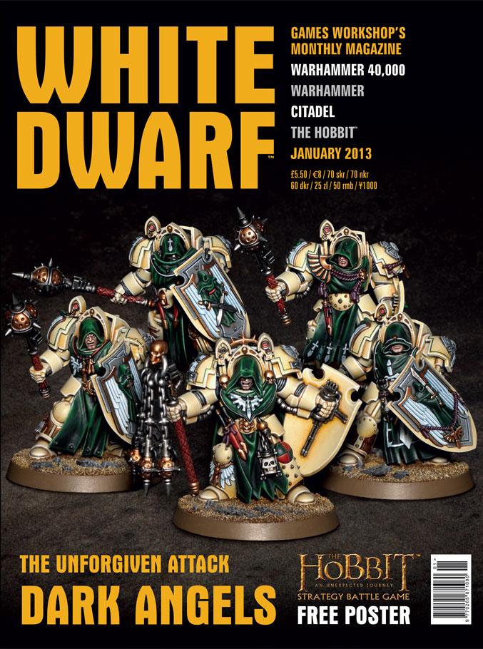 The New White Dwarf: Dark Angels Officially Announced - Faeit 212 ...