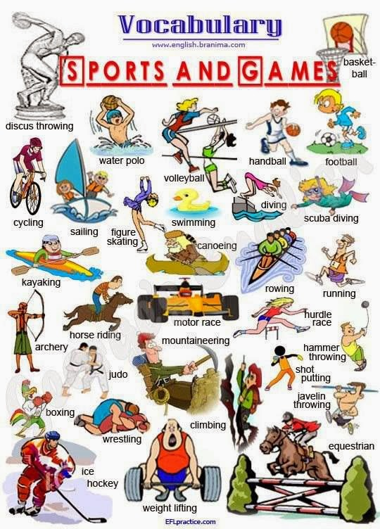 Click on: SPORTS (+verbs GO, DO or PLAY?)