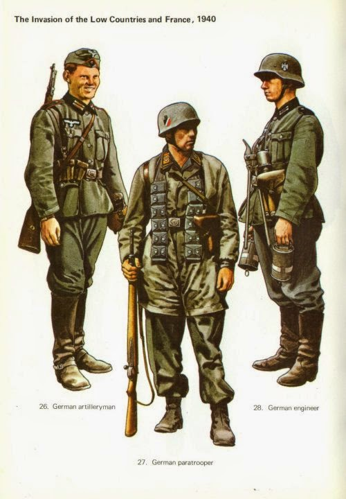 Early War German Infantry Uniforms Pictures 4
