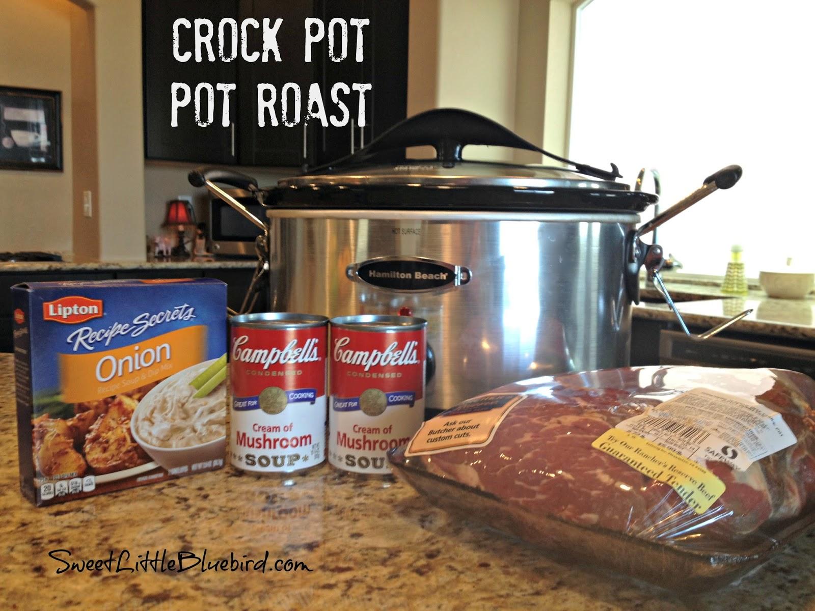 Favorite Pot Roast Recipe Made In The Crock Pot Sweet Little