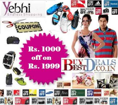 Yebhi discount coupons