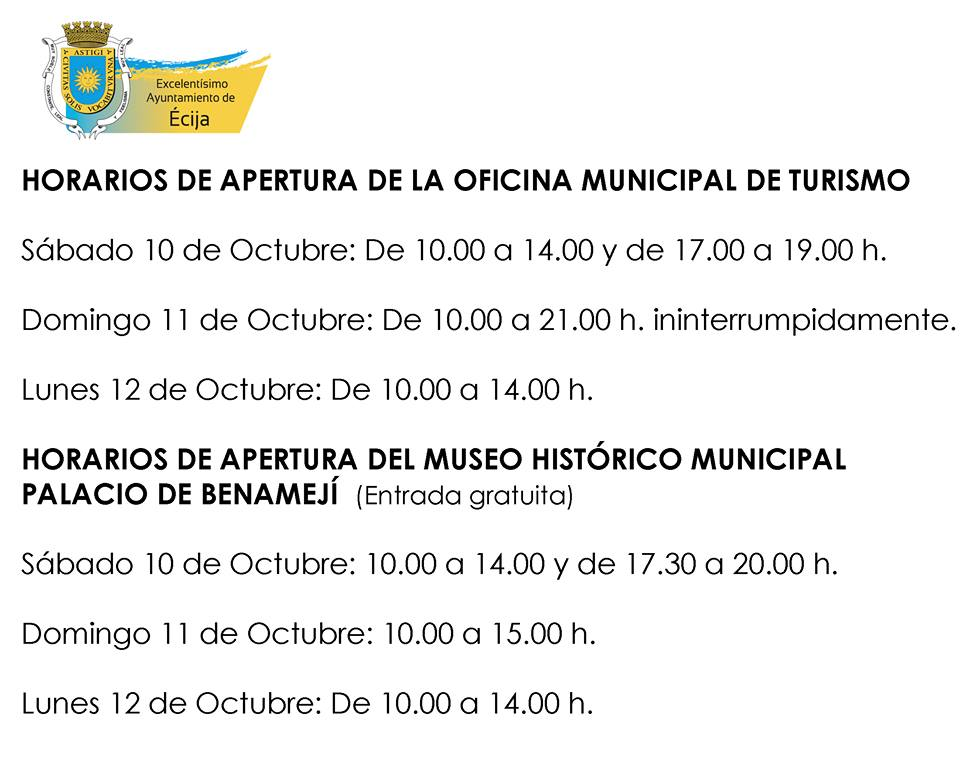Pasi n y glorias de cija horario especial en la oficina for Oficina municipal de turismo