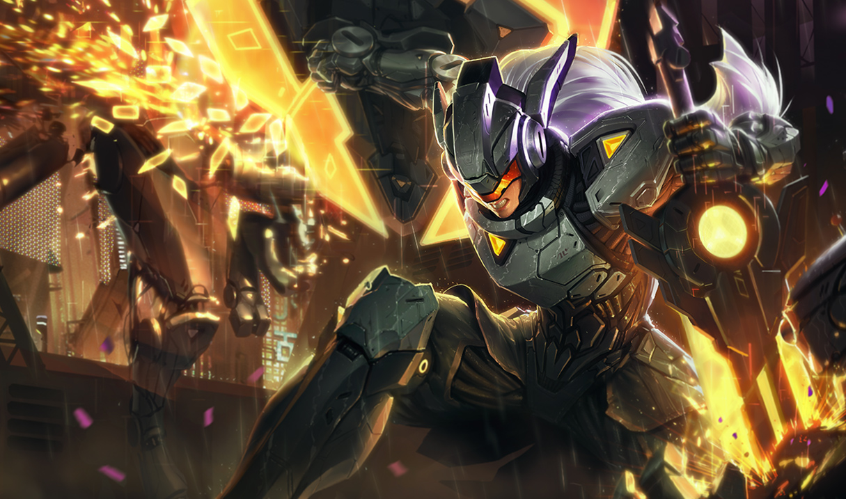 Striker Lucian Splash Art