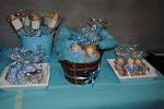 mesa para bautizo, baby shower