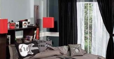 Rock N Roll Bedroom Decor The Interior Designs