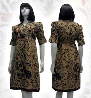 PO A31 MODEL BAJU BATIK WANITA MODERN