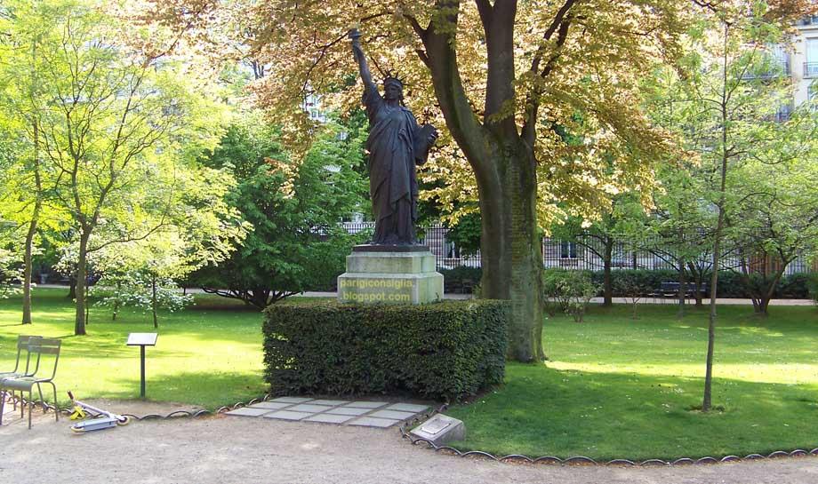 Parigi ti consiglia jardin du luxembourg - Jardin du luxembourg statue de la liberte ...