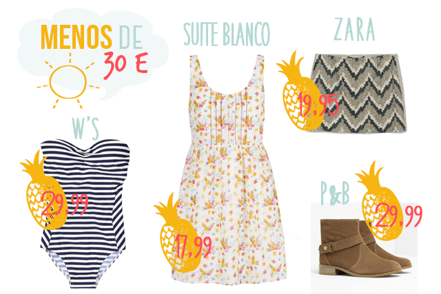 rebajas 2014 zara women secret pull&bear suiteblanco hermanas bolena