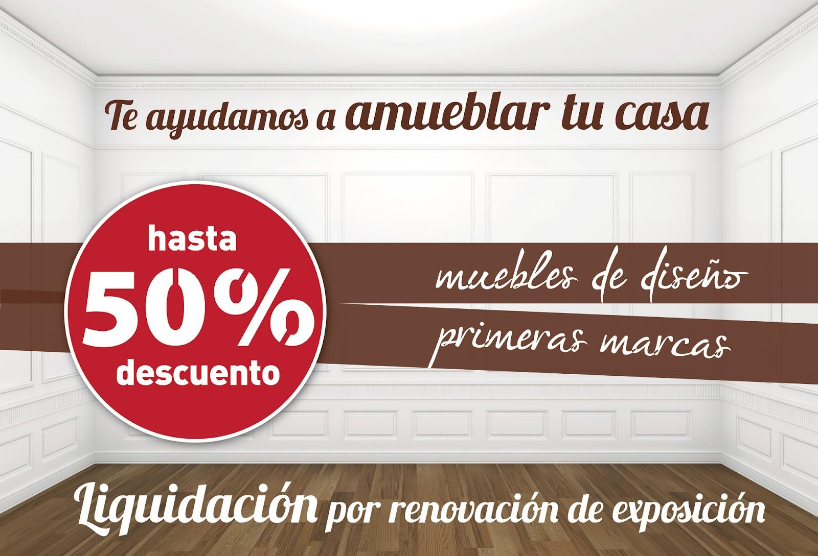 Muebles dise o castell n junio 2012 for Liquidacion muebles diseno