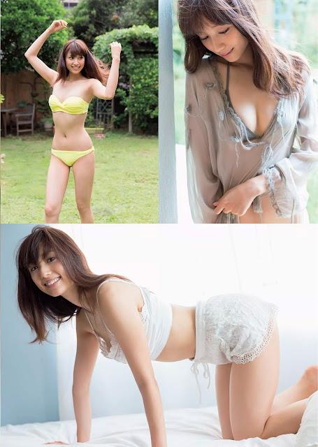 広瀬未花 Hirose Mika Weekly Playboy 週刊プレイボーイ No 31 2015 Photos 2